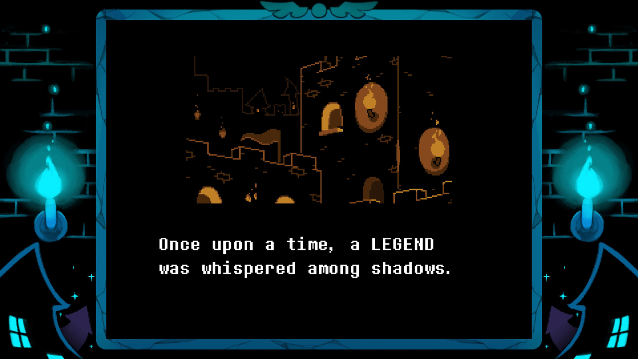Screenshot 1: DELTARUNE Chapter 1