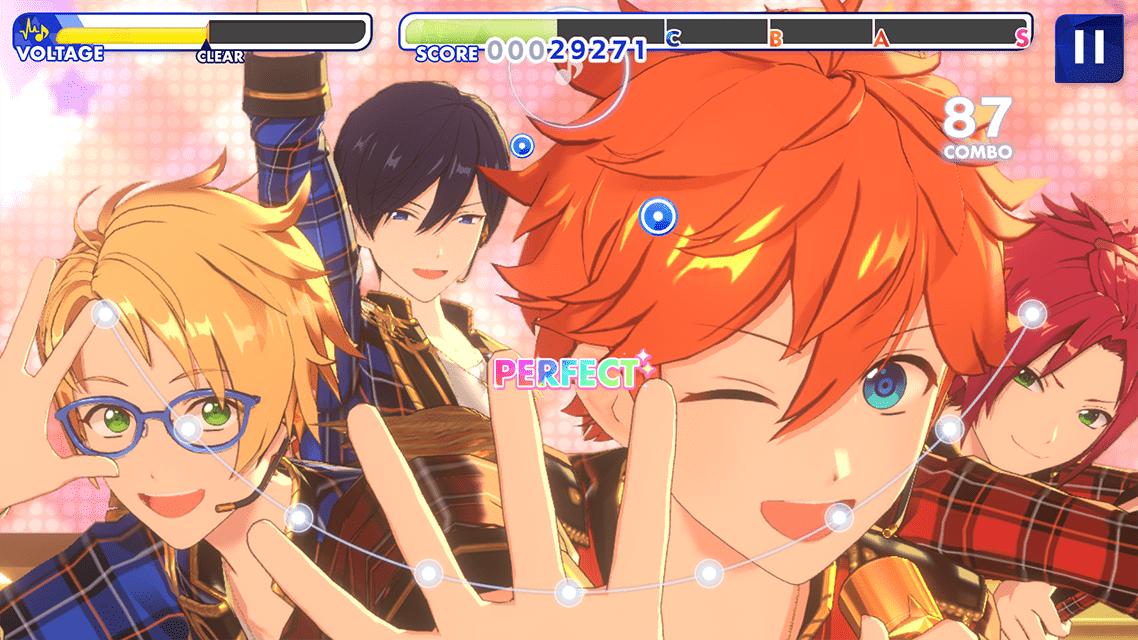 Screenshot 1: 偶像夢幻祭!!Music