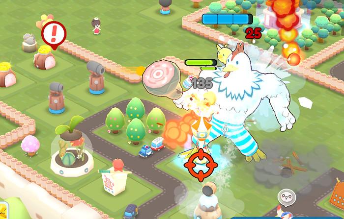 Screenshot 3: Big Bad Monsters