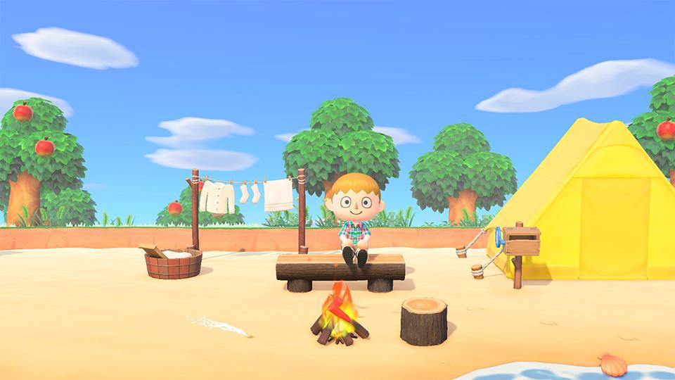 Screenshot 2: Animal Crossing: New Horizons