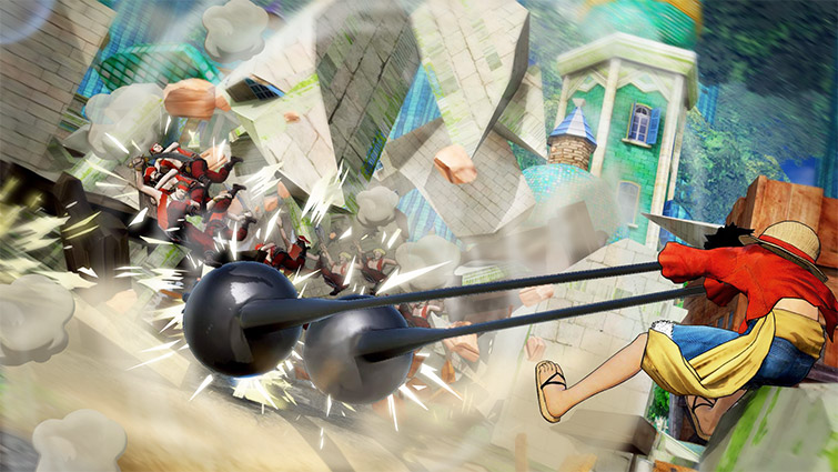 Screenshot 3: ONE PIECE Pirate Warriors 4