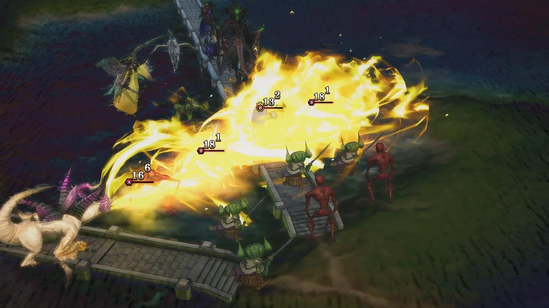Screenshot 2: 幻想大陸戰記:路娜吉亞戰記