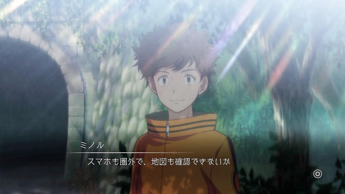 Screenshot 1: Digimon Survive