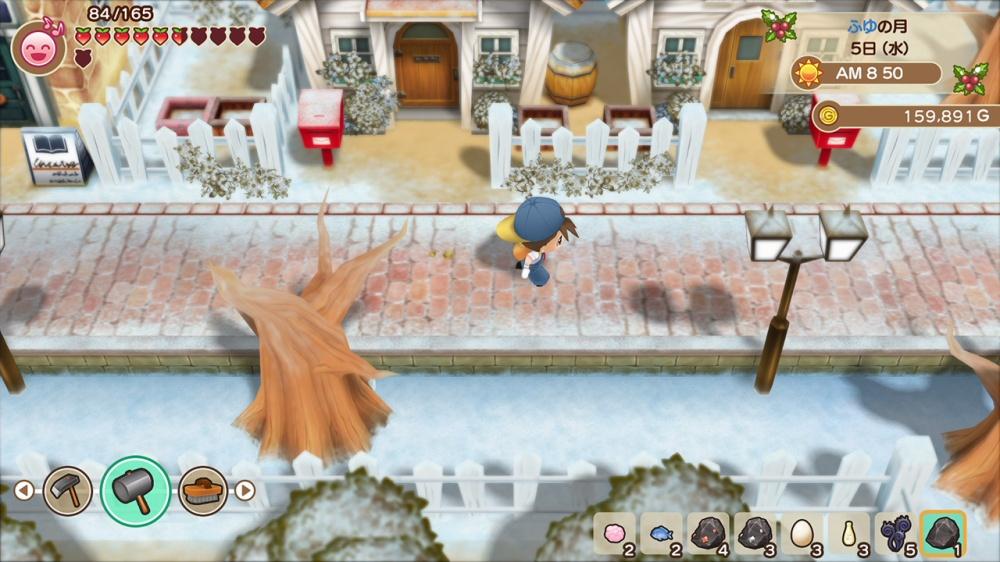 Screenshot 3: 牧場物語 再會礦石鎮