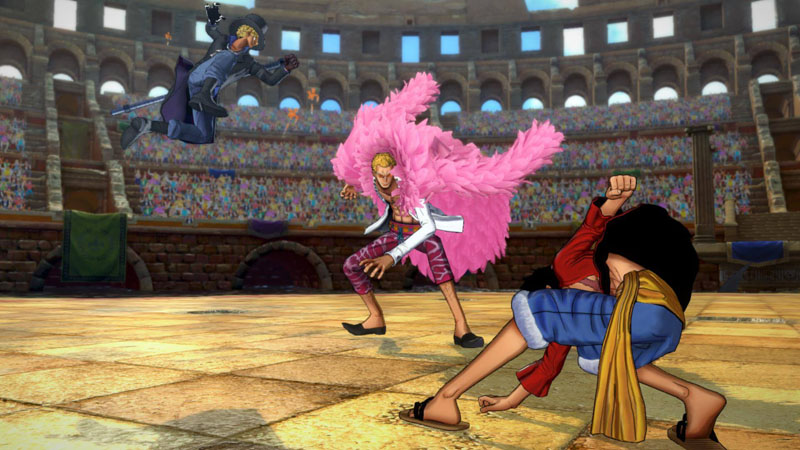 Screenshot 2: One Piece Burning Blood