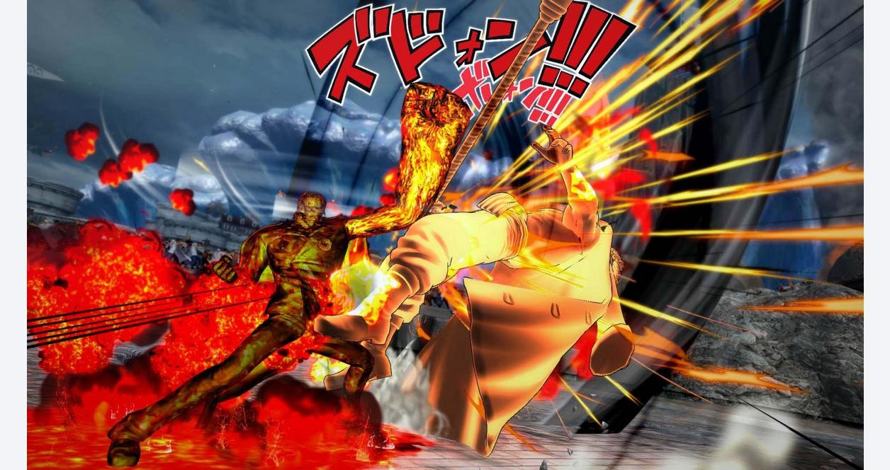 Screenshot 4: One Piece Burning Blood