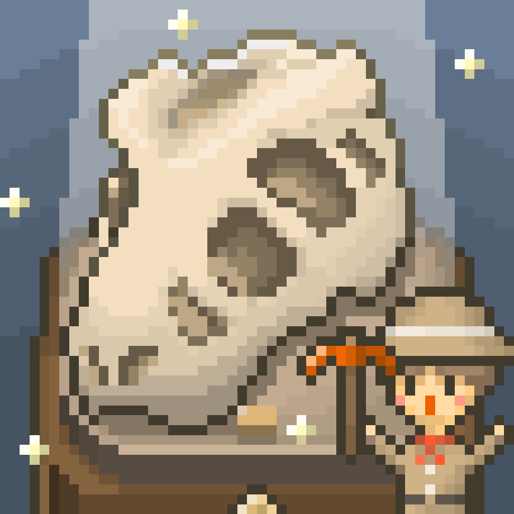 Icon: 我的化石博物馆