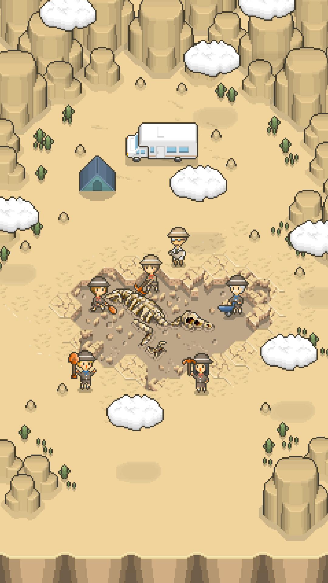 Screenshot 1: 我的化石博物馆
