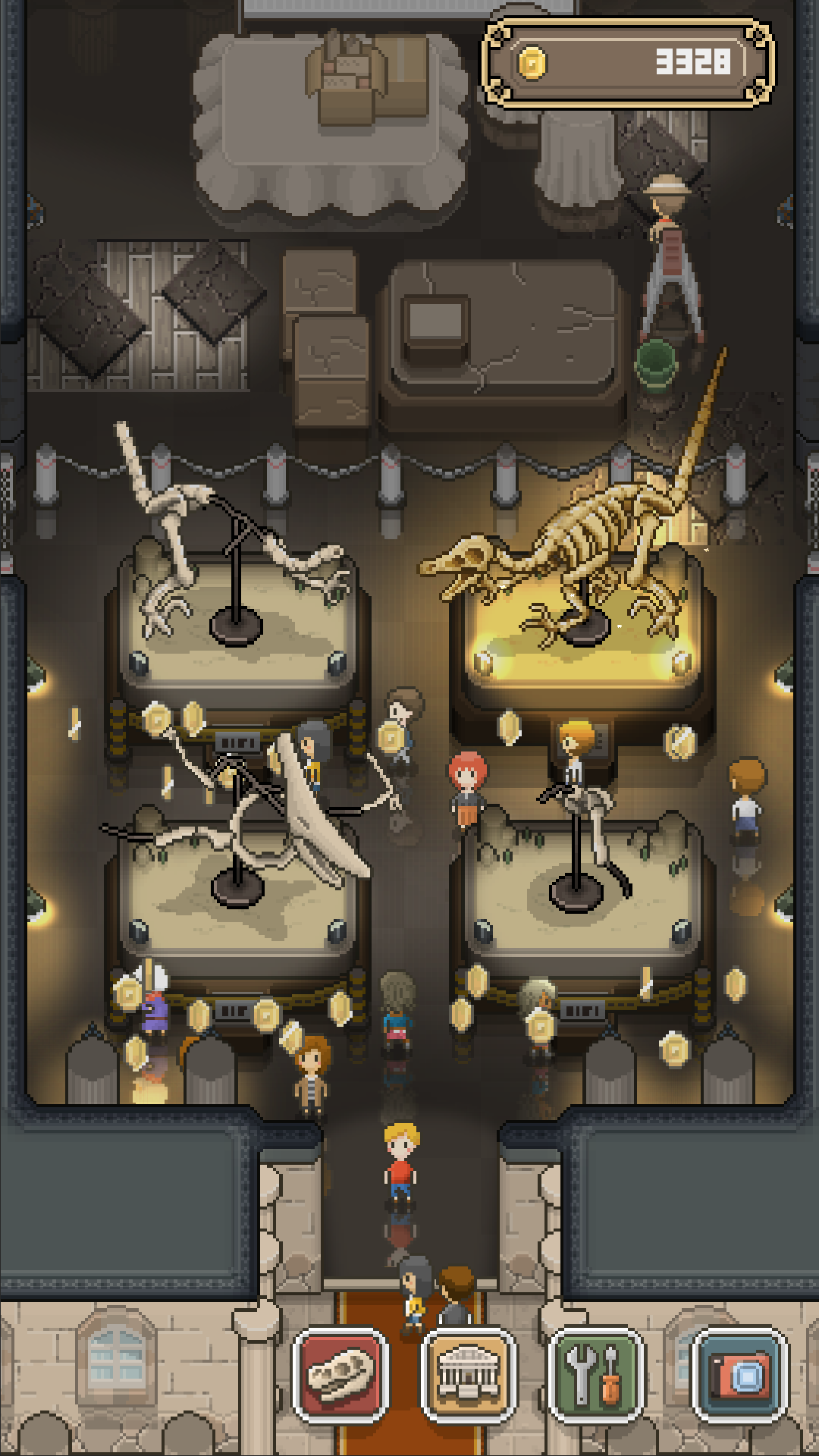 Screenshot 2: 我的化石博物馆