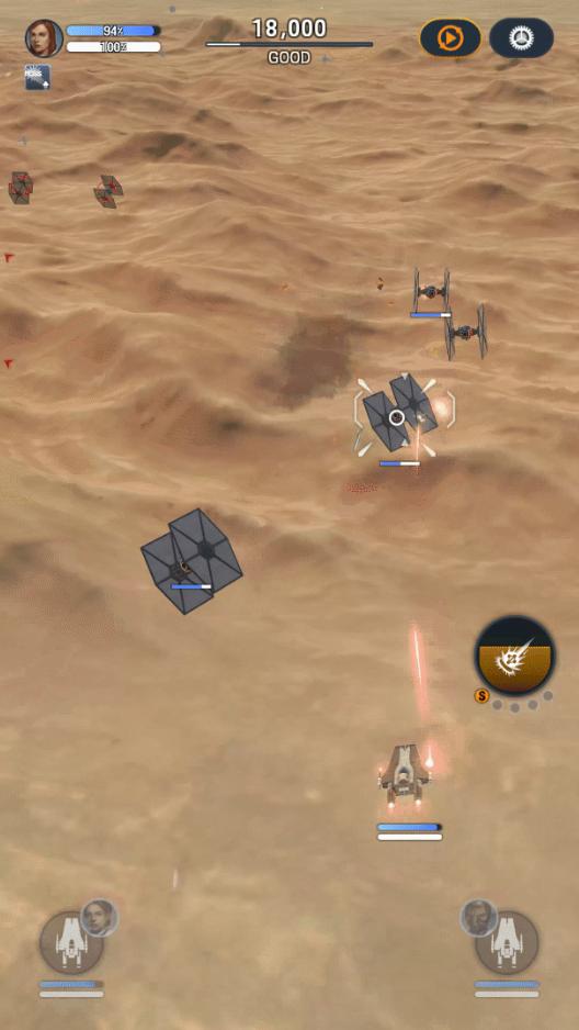 Screenshot 2: Star Wars:Starfighter Missions