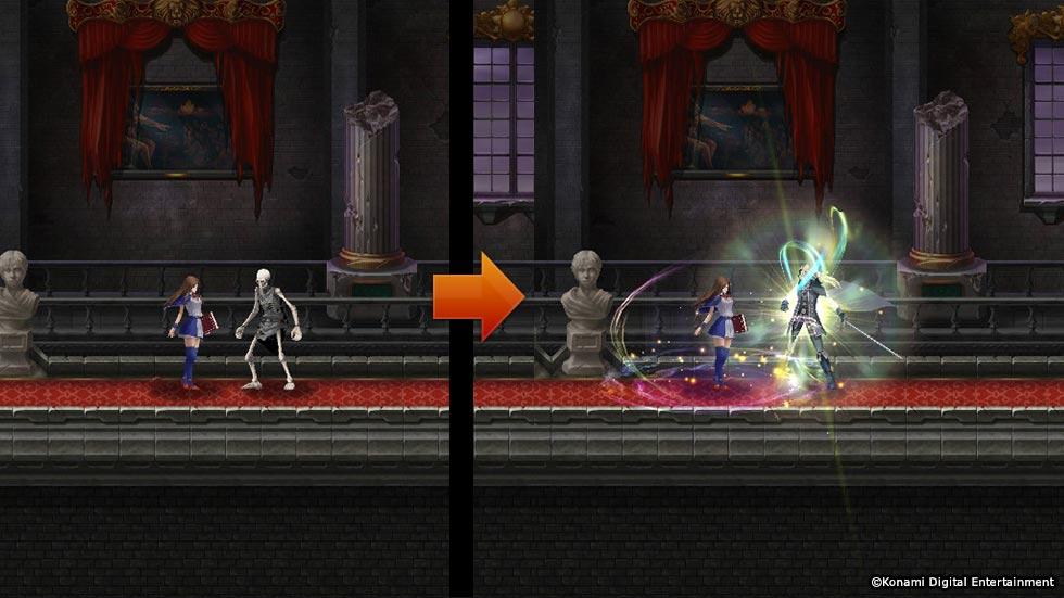 Screenshot 2: Castlevania: Grimoire Of Souls
