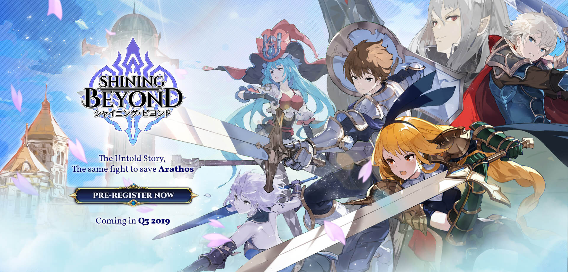 Pre-register] Shining Beyond - QooApp Game Store