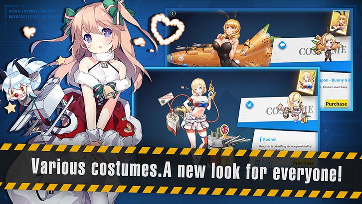 Screenshot 4: Warship Girls | Global