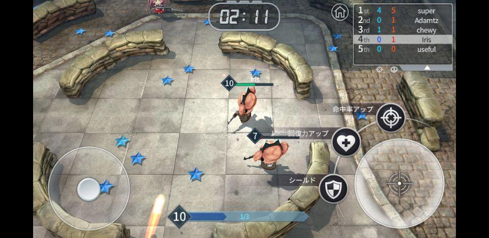Screenshot 2: 少女與槍大作戰