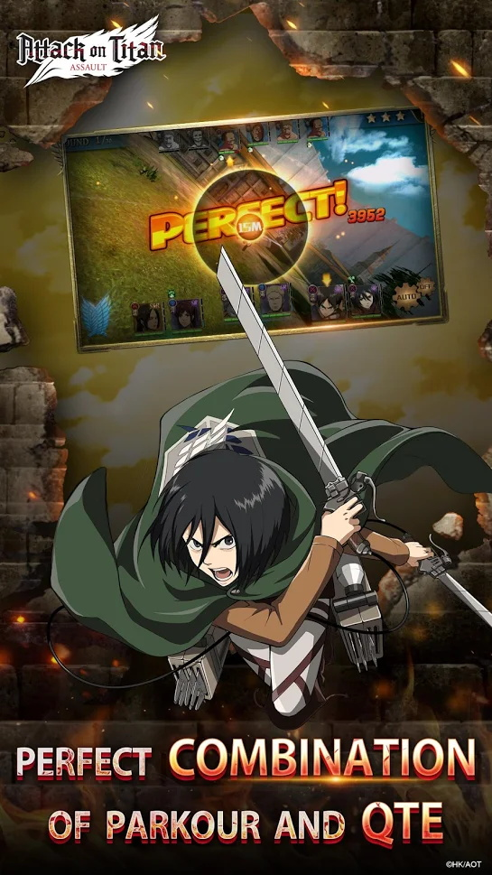 Screenshot 3: Attack on Titan: Assault