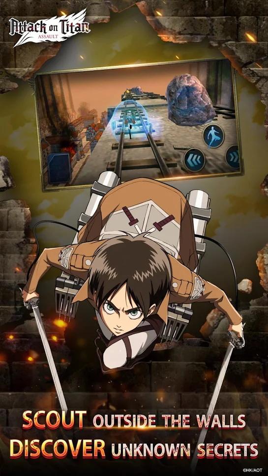 Screenshot 2: Attack on Titan: Assault