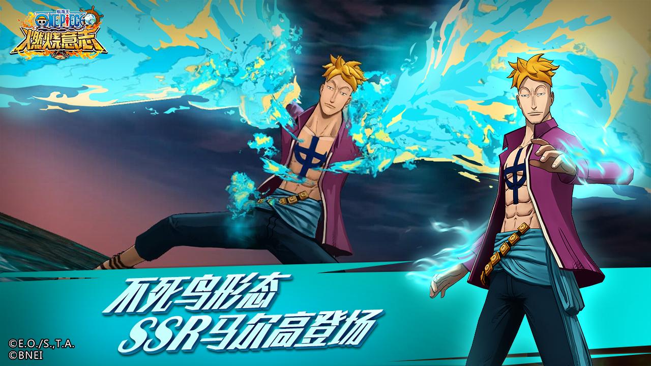 Screenshot 1: 航海王:燃燒意志