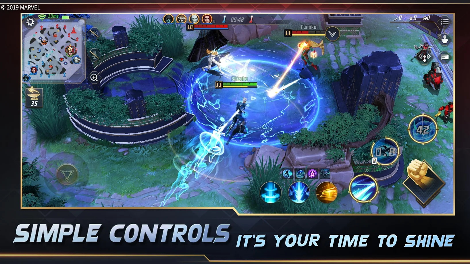 Screenshot 4: MARVEL Super War