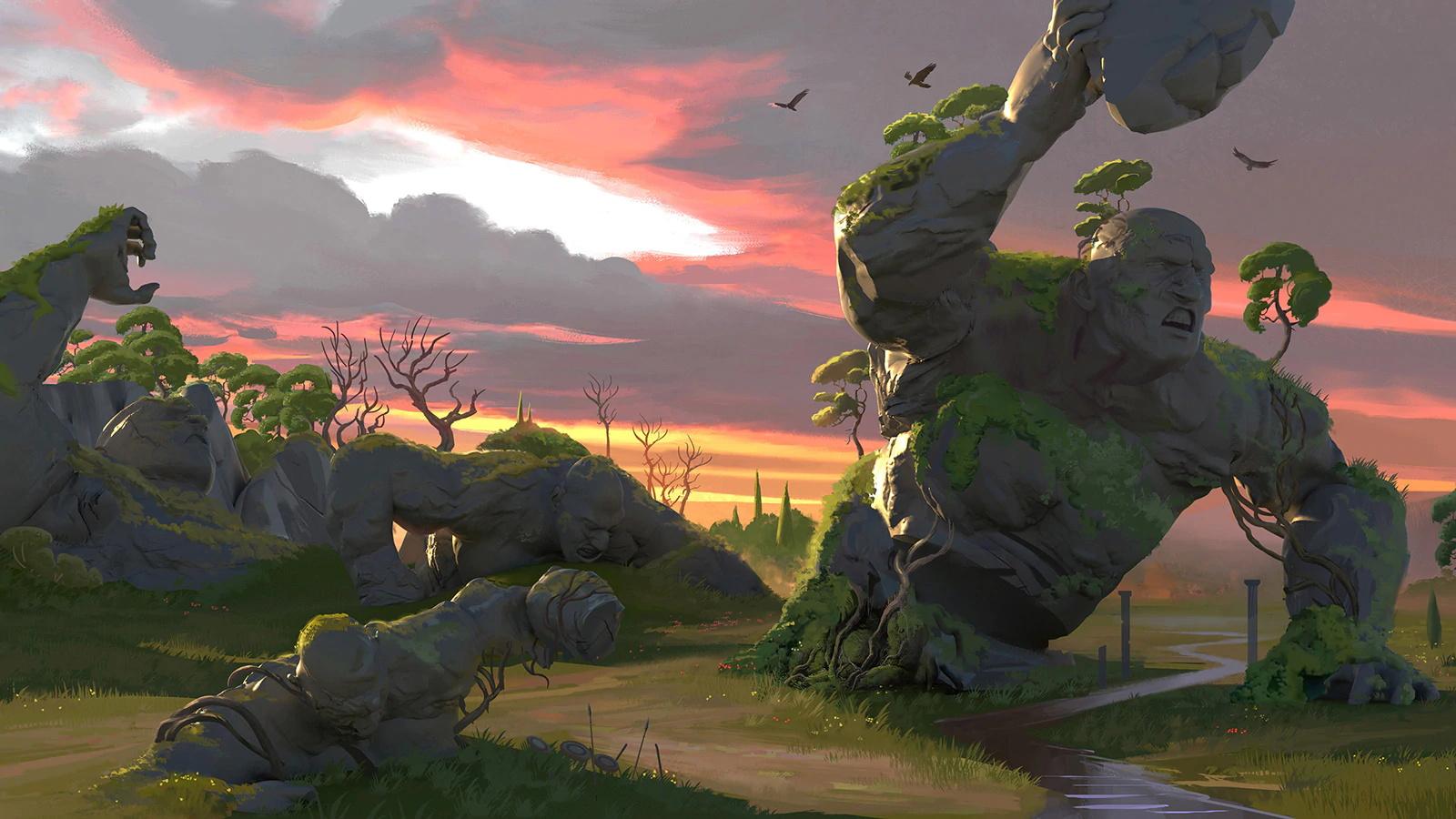 Screenshot 2: 眾神與怪獸