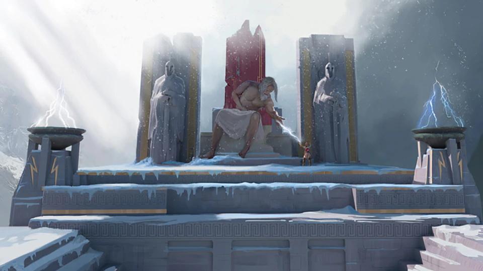 Screenshot 1: 眾神與怪獸
