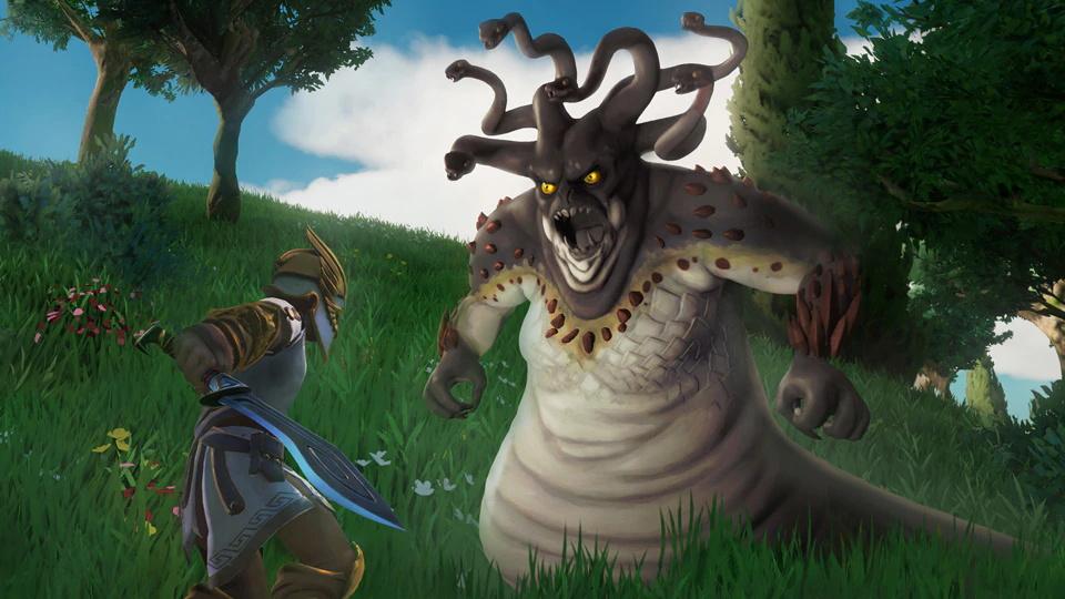 Screenshot 3: 眾神與怪獸