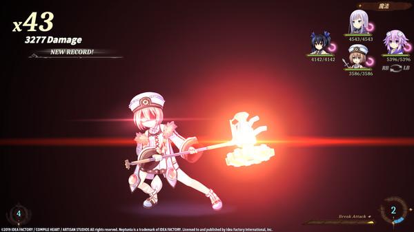 Screenshot 3: Super Neptunia RPG