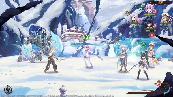 Screenshot 1: Super Neptunia RPG
