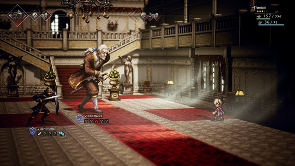 Screenshot 1: OCTOPATH TRAVELER™