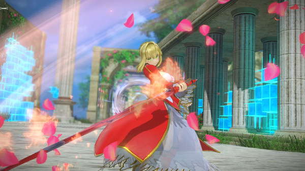 Screenshot 1: Fate/EXTELLA LINK