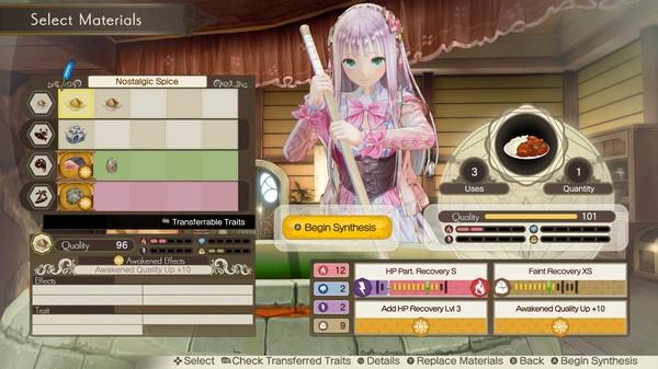 Screenshot 2: Atelier Lulua ~The Scion of Arland~ / ルルアのアトリエ ~アーランドの錬金術士4~