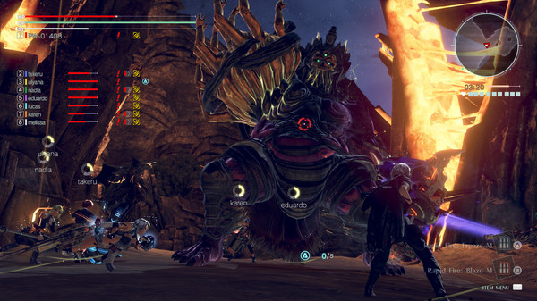 Screenshot 3: GOD EATER 3