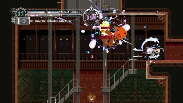 Screenshot 1: Touhou Luna Nights