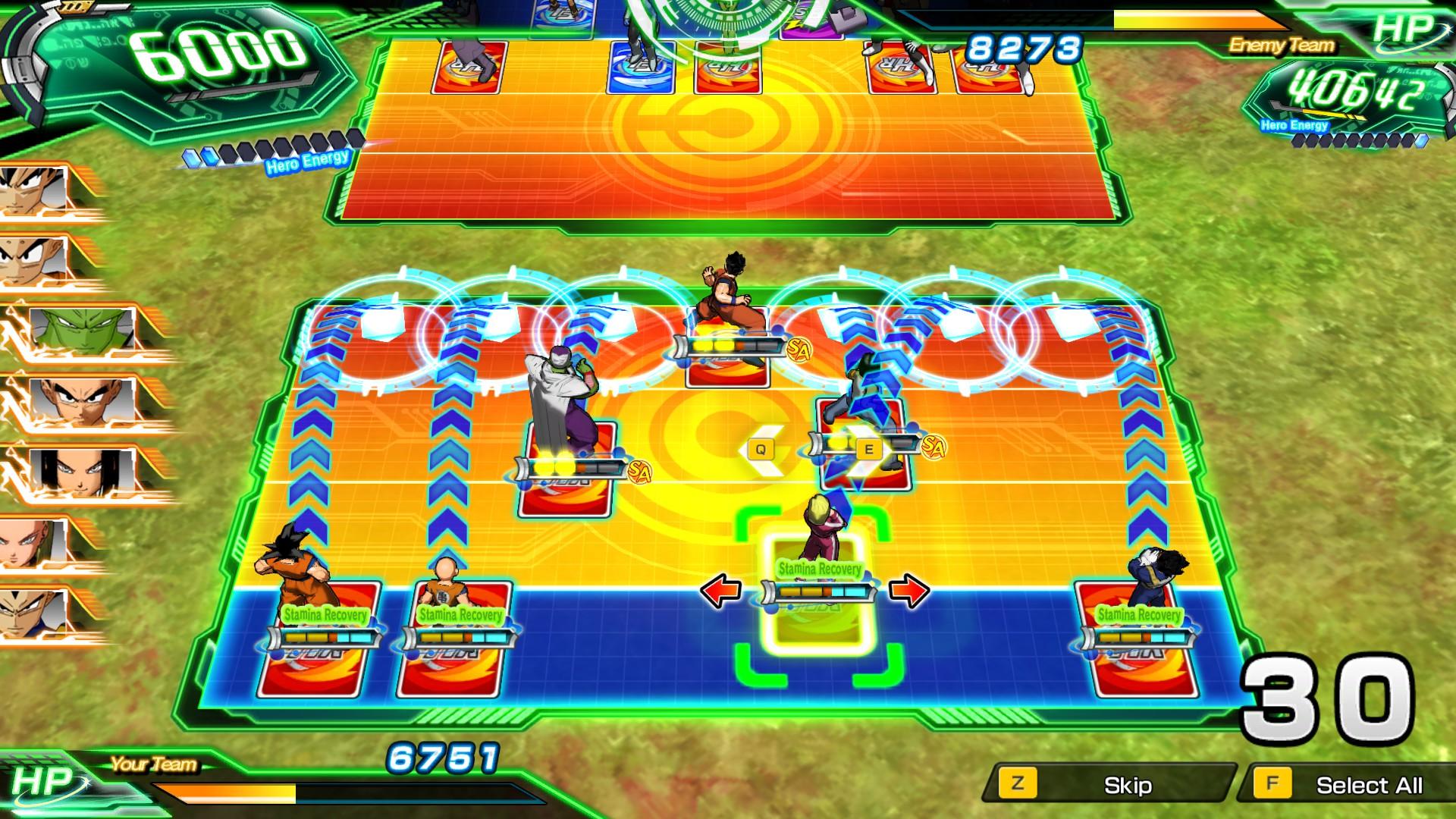 Screenshot 1: SUPER DRAGON BALL HEROES WORLD MISSION