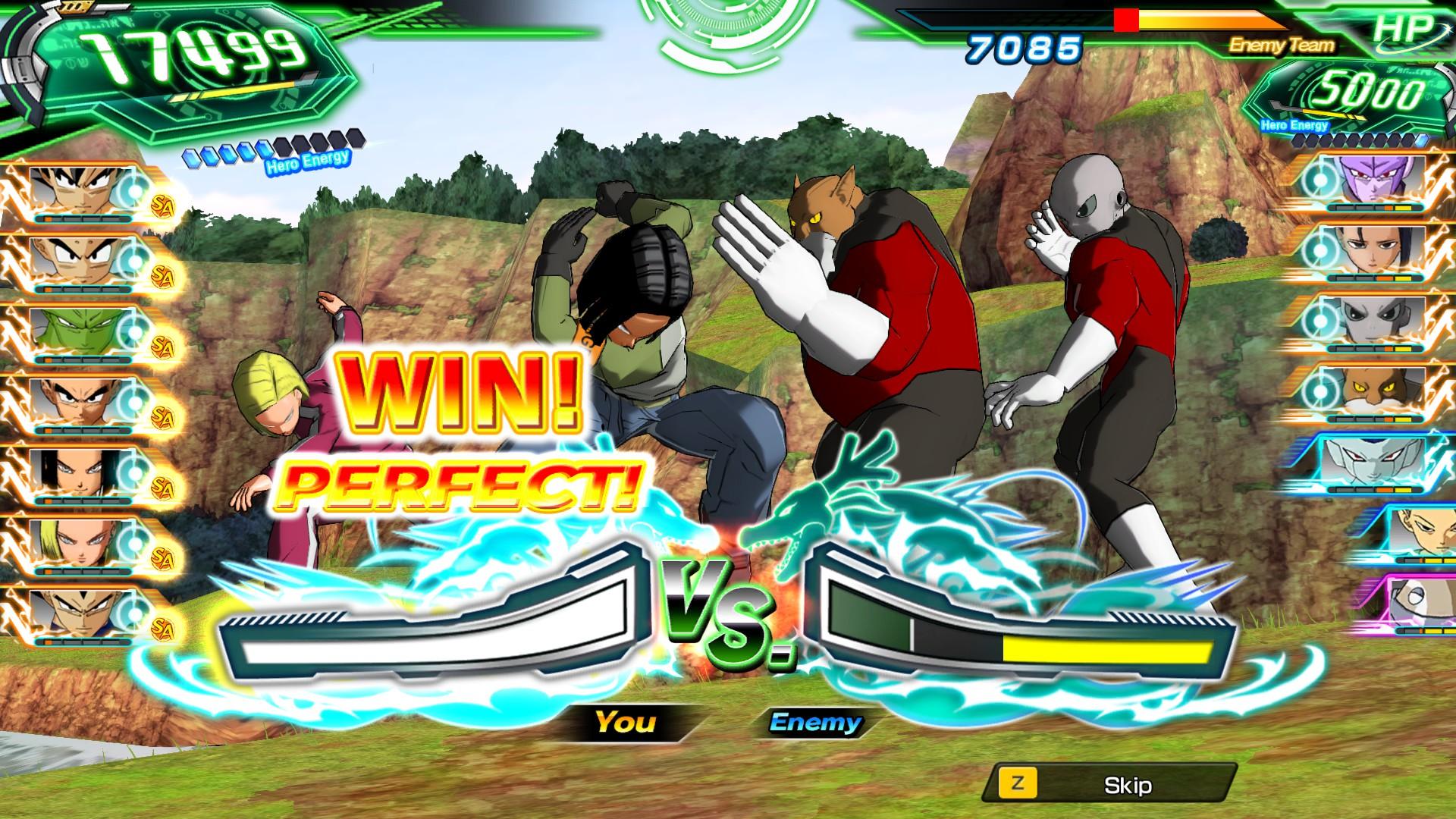 Screenshot 3: SUPER DRAGON BALL HEROES WORLD MISSION