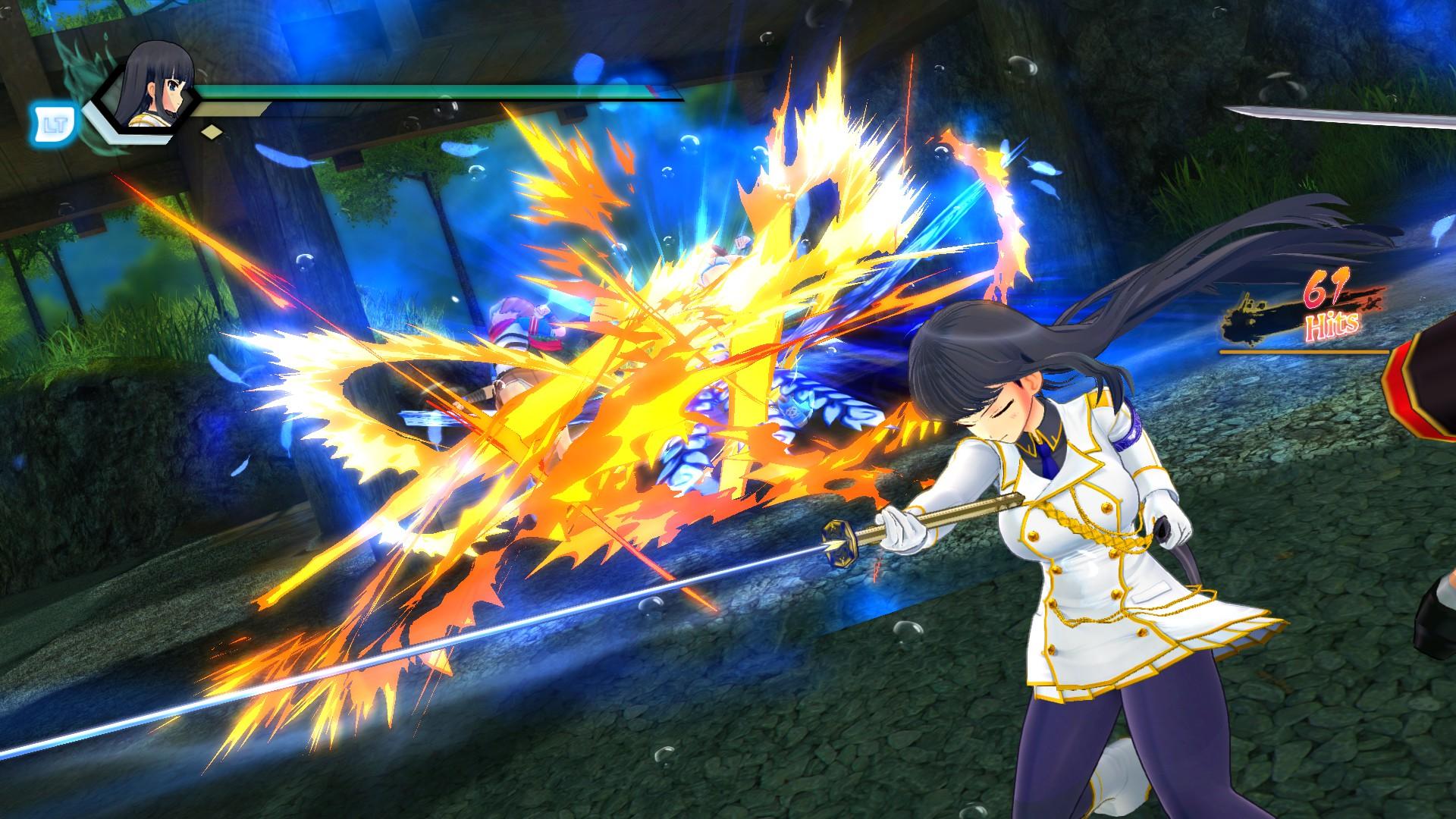 Screenshot 3: 閃亂神樂 Burst Re:Newal