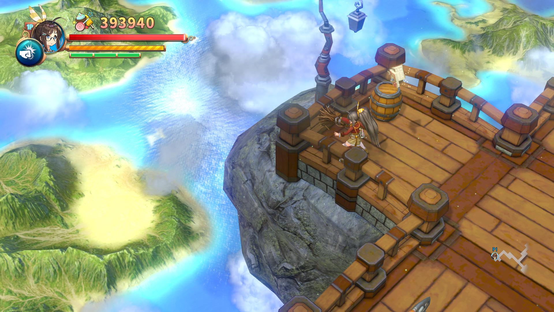Screenshot 1: 蕾咪羅亞~少女與異世界與魔導書~