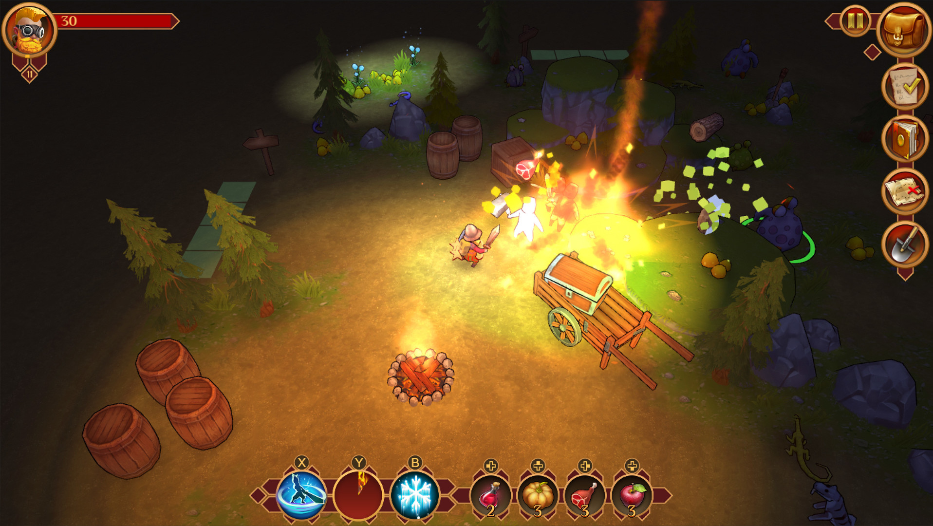 Screenshot 3: Quest Hunter