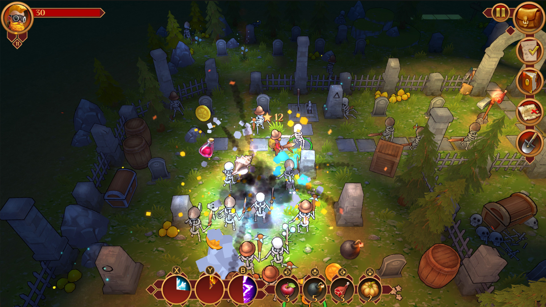Screenshot 1: Quest Hunter