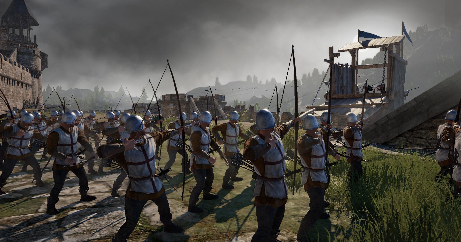 Screenshot 1: 정복자의 칼날: 국경 지방