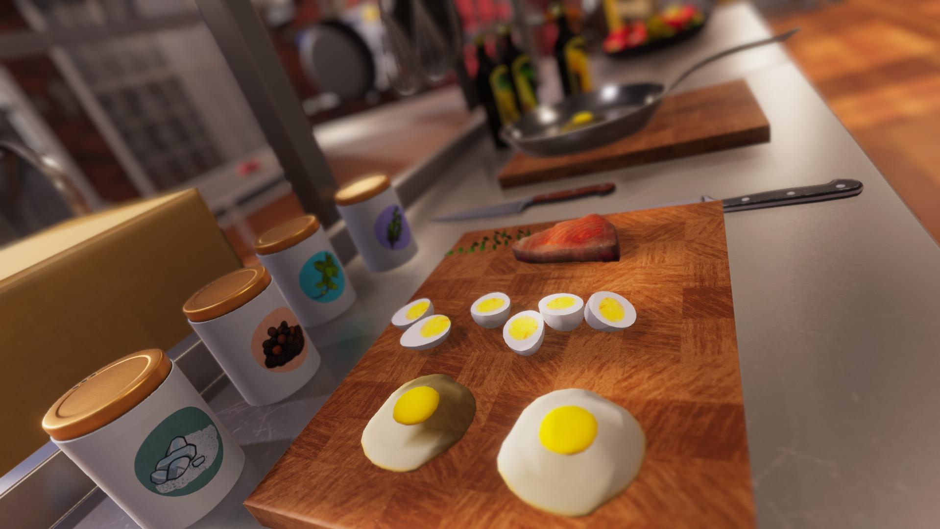 Screenshot 1: 廚房模擬器