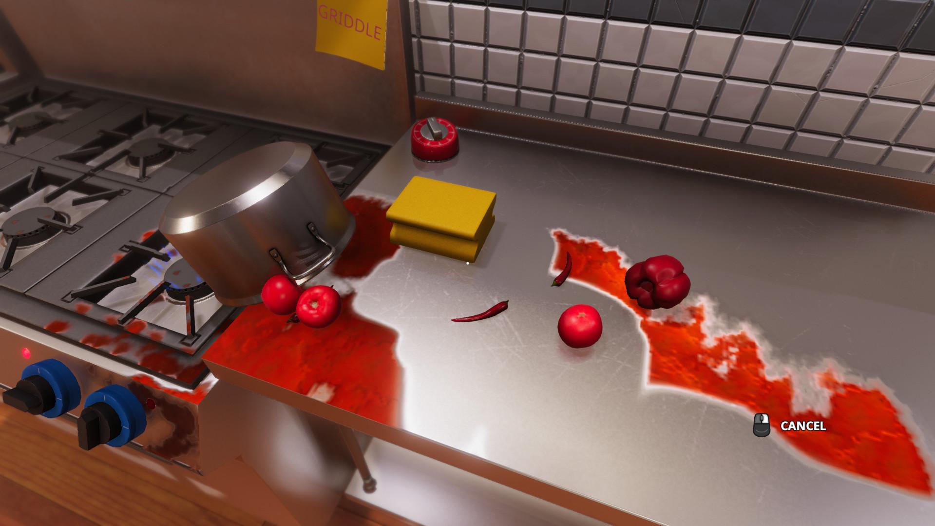 Screenshot 2: 廚房模擬器