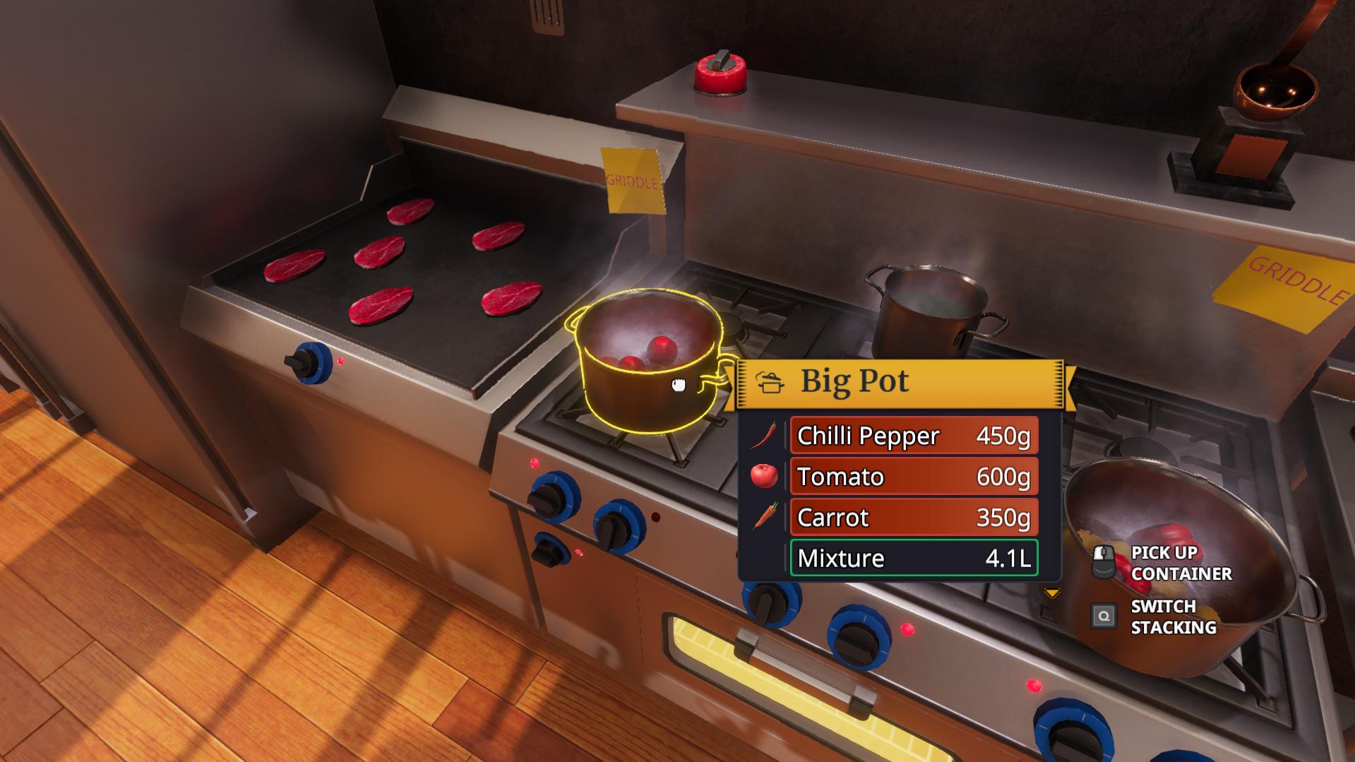 Screenshot 3: 廚房模擬器
