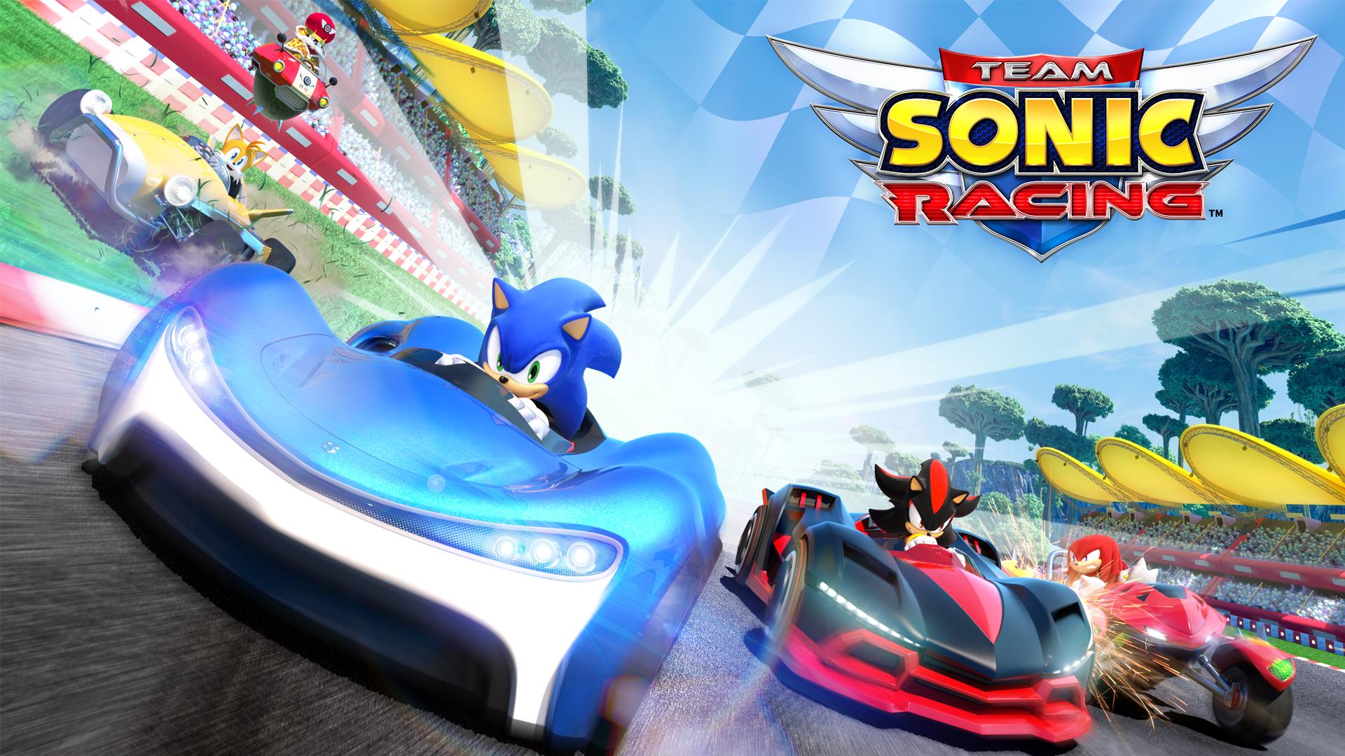 Screenshot 1: 音速小子搭檔組隊大賽車