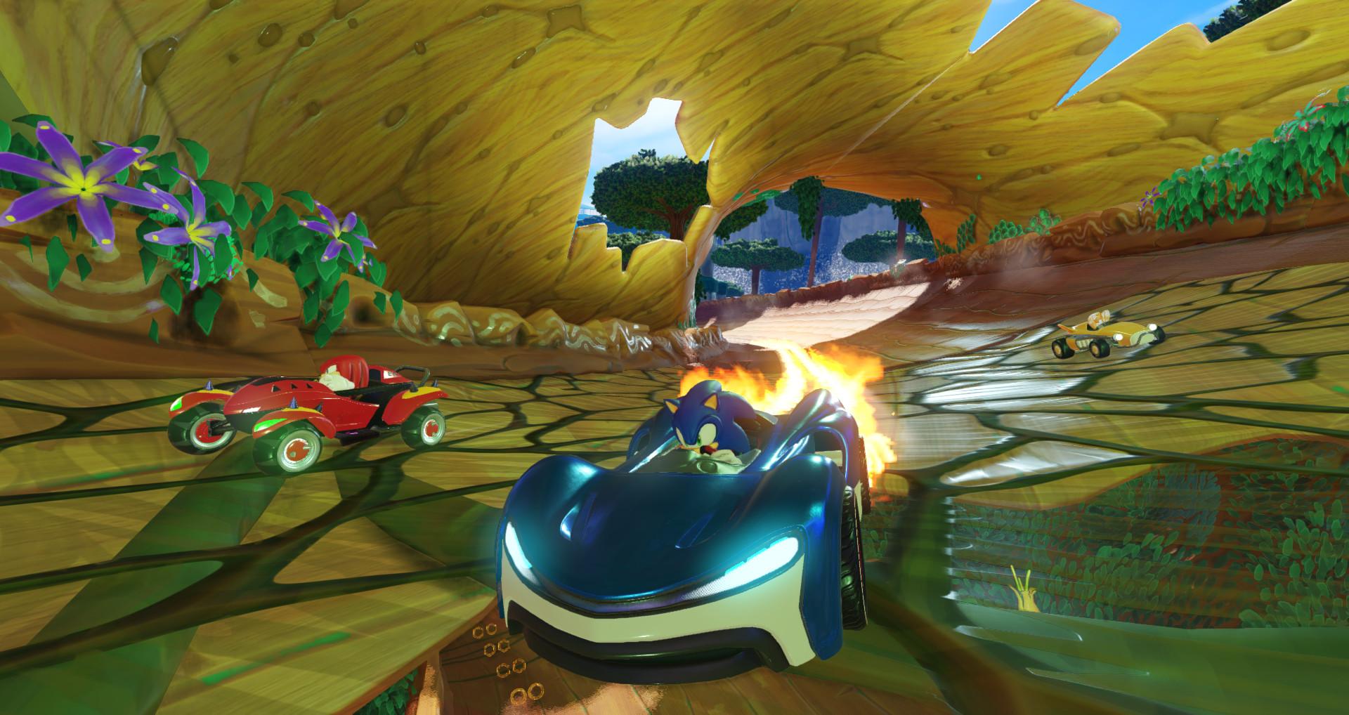 Screenshot 4: 音速小子搭檔組隊大賽車