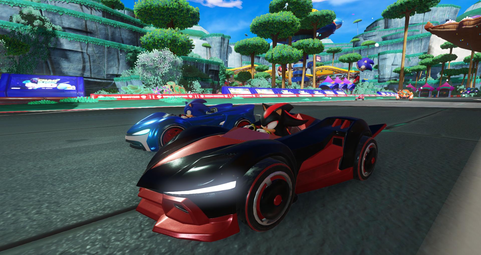 Screenshot 2: 音速小子搭檔組隊大賽車