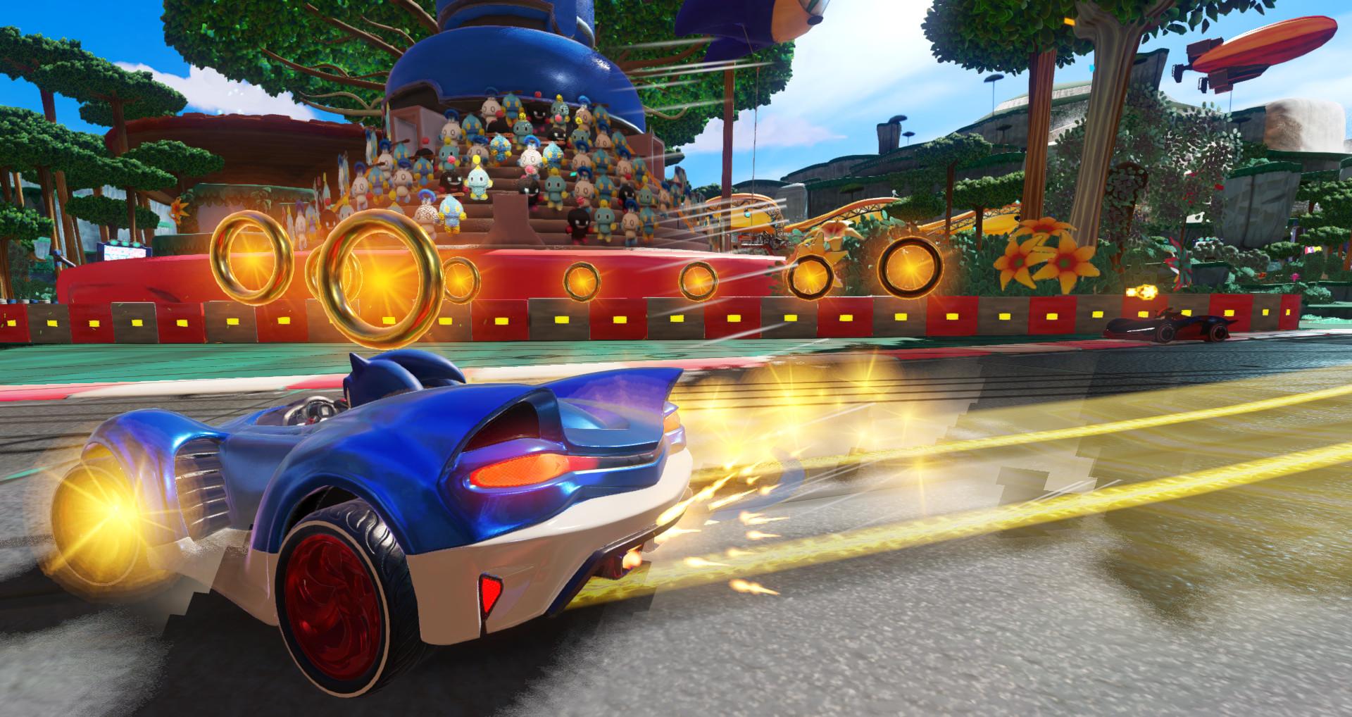 Screenshot 3: 音速小子搭檔組隊大賽車