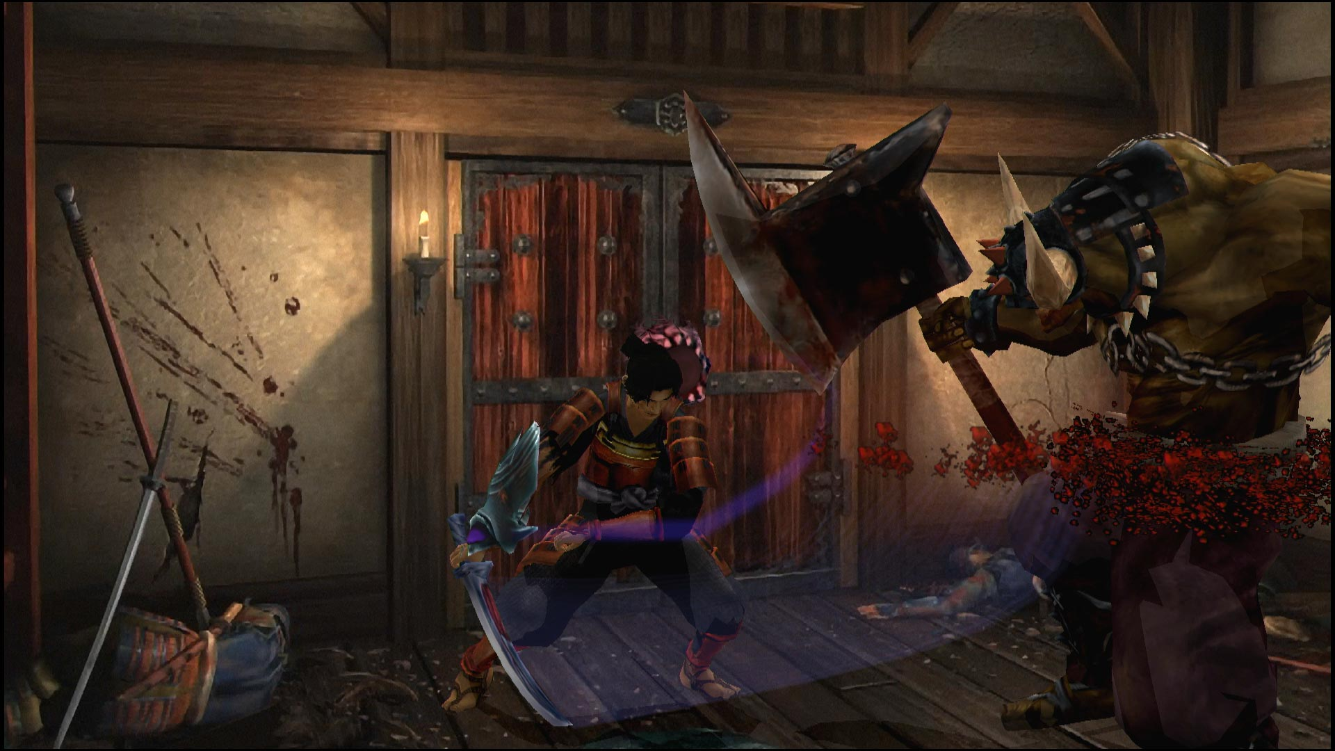 Screenshot 1: 鬼武者