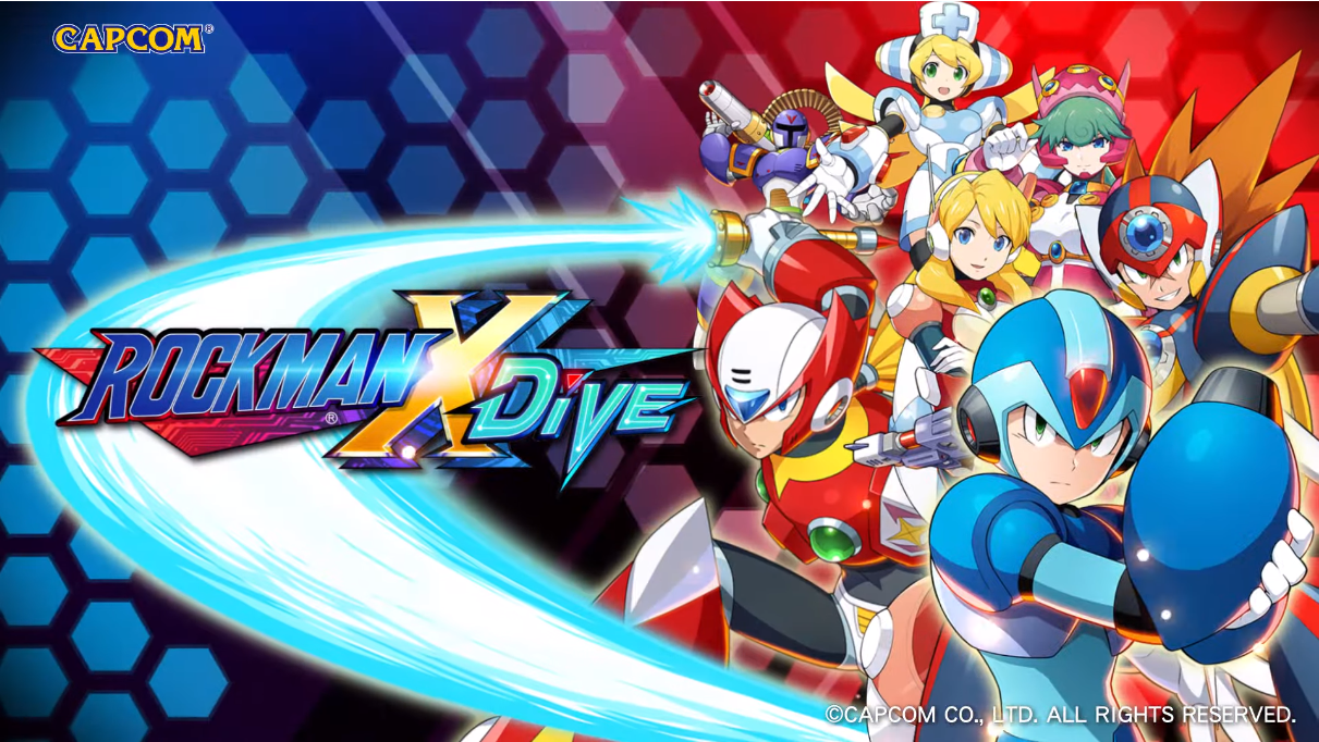 Screenshot 1: RockMan X Dive