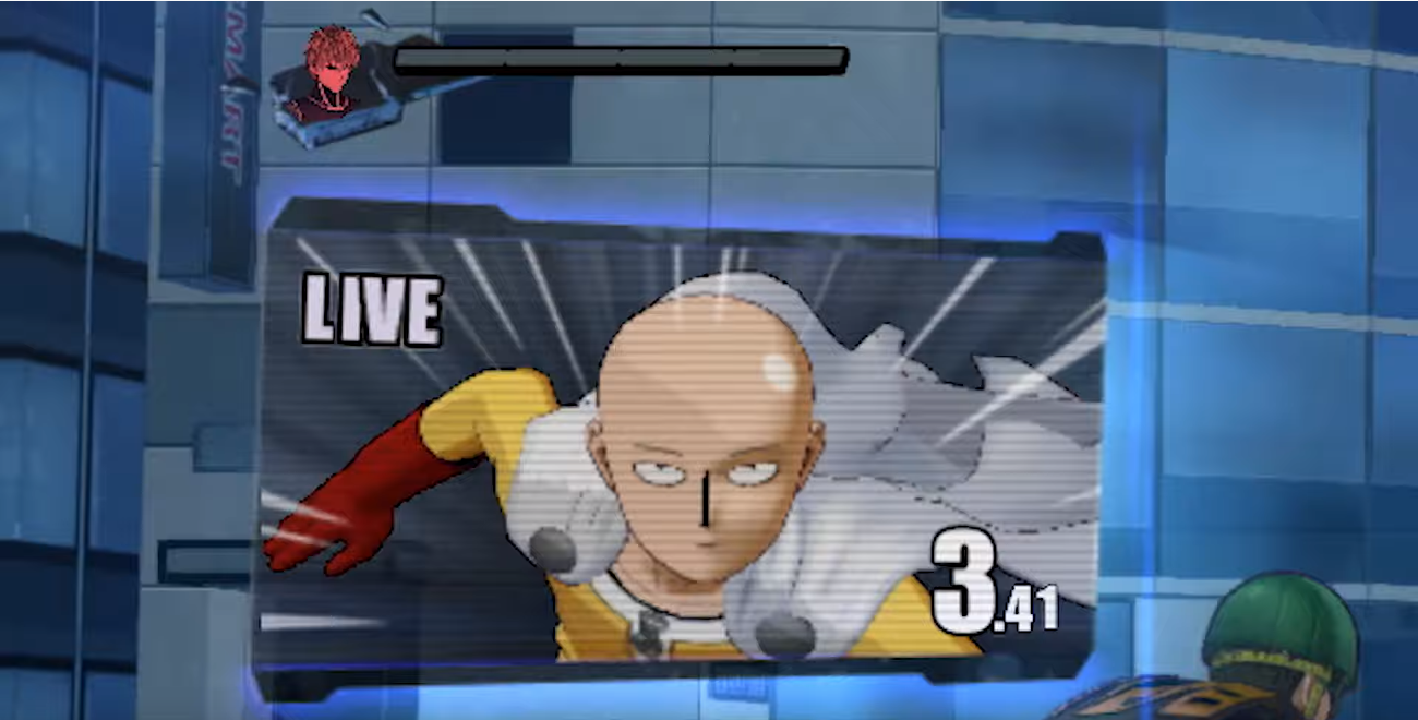 Screenshot 4: One Punch Man: A Hero Nobody Knows