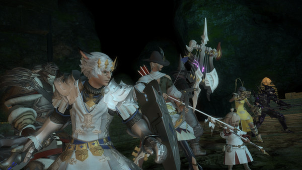 Screenshot 1: FINAL FANTASY XIV Online